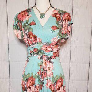 IMAN Maxi Floral Dress
